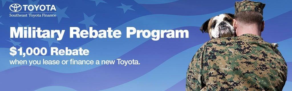 Toyota Military Program In Ocala Serving Belleview Fl